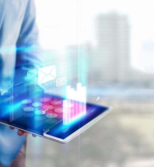 reflection-businessman-using-tablet-analyzing-data-and-economic-growth-graph-chart-and-copy-space-concept-on-tablet-with-hologram